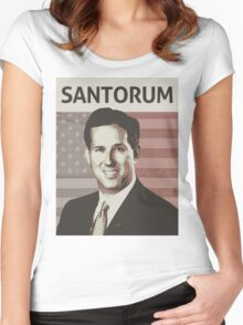 Rick Santorum Women's Fitted Scoop T-Shirt