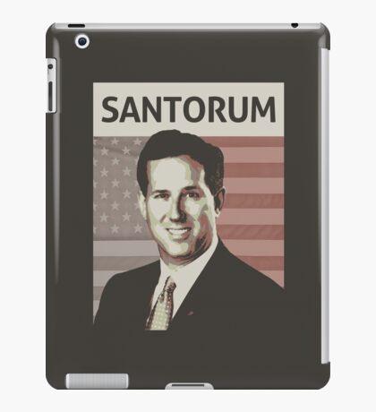 Rick Santorum iPad Case/Skin