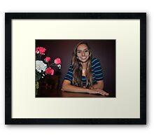 """"""" Teen Age Queen ..."""" Framed Print"""