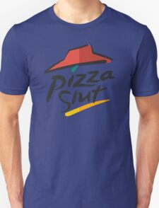 Pizza Slut Hut Fast Food Parody Unisex T-Shirt