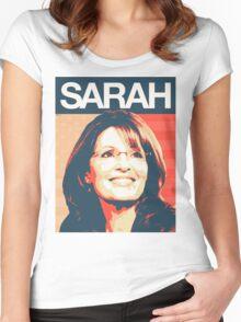 Sarah Palin Women's Fitted Scoop T-Shirt