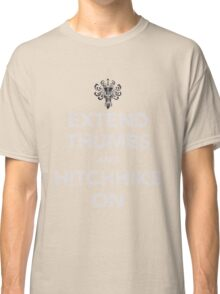 """Haunted Mansion """"Keep Calm"""" Spoof Classic T-Shirt"""