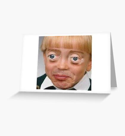 Steve Buscemi Boy Greeting Card