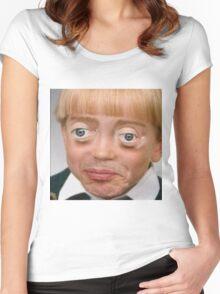Steve Buscemi Boy Women's Fitted Scoop T-Shirt