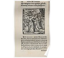 Contemplation Life and Passion Our Lord Jesus Christ Albrecht Durer 1557 0018 Poster