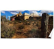 """""""homestead""""       outback south australia Poster"""