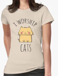 I worship cats T-Shirt
