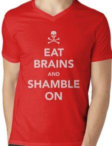 """Zombie """"Keep Calm"""" Spoof Mens V-Neck T-Shirt"""