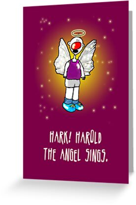 Hark! Harold the Angel Sings! by samedog
