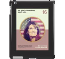 Her Time To Lead iPad Case/Skin