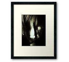 The Vanishing HitchHiker Framed Print