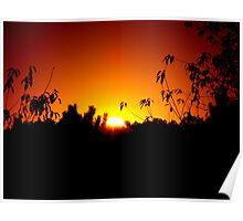 Lingering Moments Before Sunrise Poster