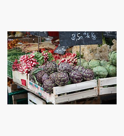 Cahors Market Photographic Print