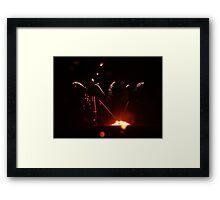 Fireworks Frenzy  Framed Print