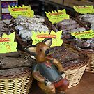 Cahors market meats by Christine Oakley
