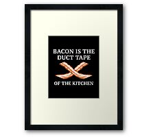 Duct Tape Of The Kitchen Framed Print
