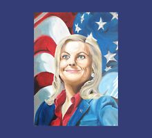 Fictional American Leslie Knope Parks & Recreation Fanart Unisex T-Shirt
