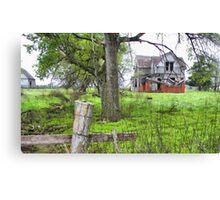 Grand-Dads Place Canvas Print