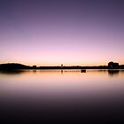 Summer Sunrise on Lake Burley Griffin by Jake Gumley