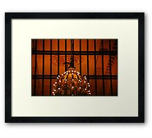 Can You Guess Where I Shot This? Framed Print