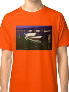 Fishing boat at Lefkada island Classic T-Shirt