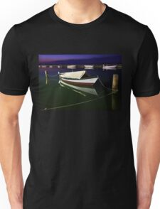 Fishing boat at Lefkada island Unisex T-Shirt