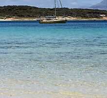 Sail Away - Trousers Point, Flinders Island, Tasmania by funkytamara
