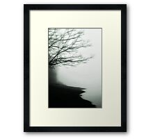 Forgetful Shores Framed Print