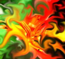 Fire Flower by Sean LaBelle