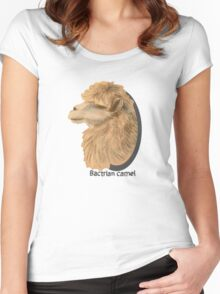 Bactrian Camel Women's Fitted Scoop T-Shirt