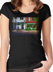 Soho Street Scene Women's Fitted Scoop T-Shirt