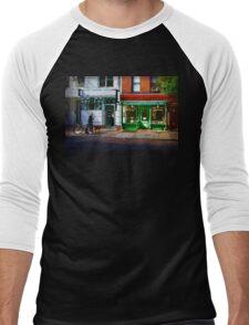 Soho Street Scene Men's Baseball ¾ T-Shirt