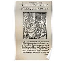 Contemplation Life and Passion Our Lord Jesus Christ Albrecht Durer 1557 0060 Poster