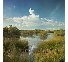 sea flood ponds Photographic Print