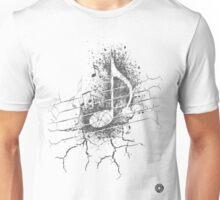 Cracked notes Unisex T-Shirt