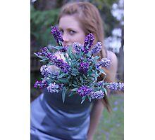 Lavender Lady Photographic Print