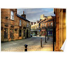 Late Afternoon in the Montpelier Quarter, Harrogate Poster