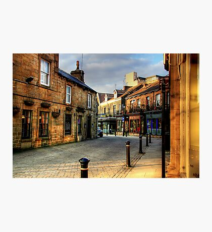 Late Afternoon in the Montpelier Quarter, Harrogate Photographic Print