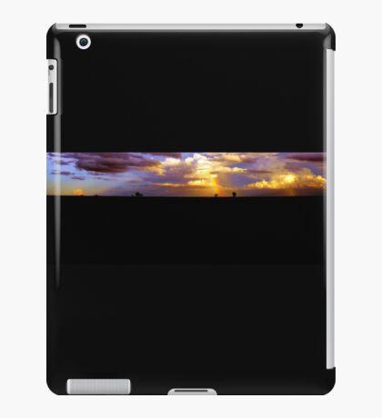 outback sunset  iPad Case/Skin