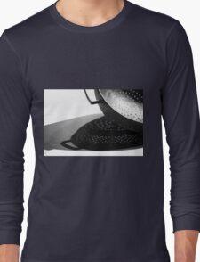 Kitchen Colander Shadows & Light Long Sleeve T-Shirt
