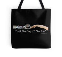 AI Wedding Tote Bag