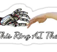 AI Wedding Sticker