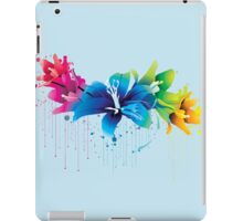 Colourful Flower Vector iPad Case/Skin