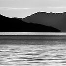 Loch Fyne Silhouettes - Layered Textures by Kevin Skinner