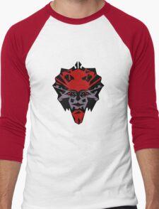 Cheerful devil....... Men's Baseball ¾ T-Shirt