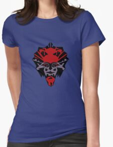 Cheerful devil....... Womens Fitted T-Shirt