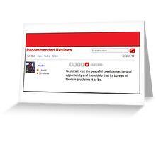 Review of Nestora Greeting Card