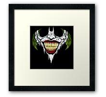 Clown Signal Framed Print