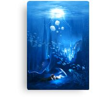 Underwater World Canvas Print