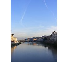 Arno river, Florence Photographic Print